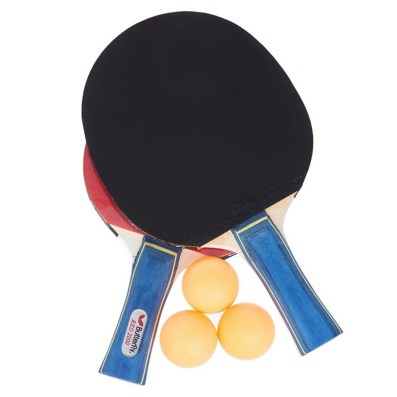 Набор для настольного тенниса 2 ракетки 3 мяча Butterfly MT-1278