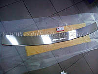 Накладка на бампер с загибом Kia Carens III с 2006 г.