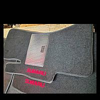 Ворсовые коврики передние   SUBARU Impeza (2008-)