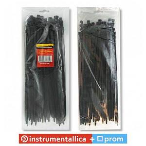 Хомут пластиковый 3,6x300мм, (100 шт/упак), черный TC-3631 Intertool