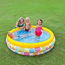 Надувний басейн Intex 114х114х25 см (59419), фото 2