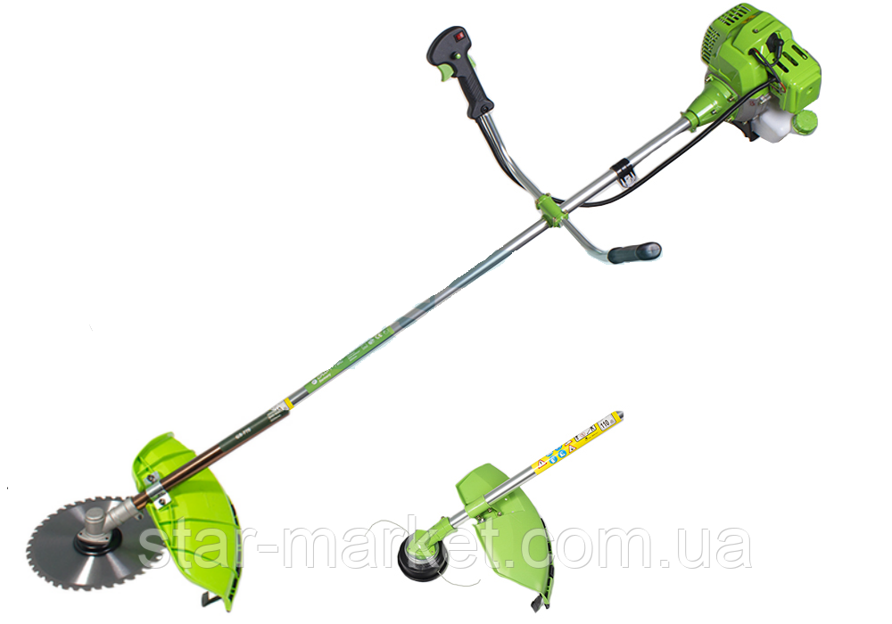 Бензокоса Craft-Tec GS-777 4400w (1 нож/40z+1шпуля+рюкзак)
