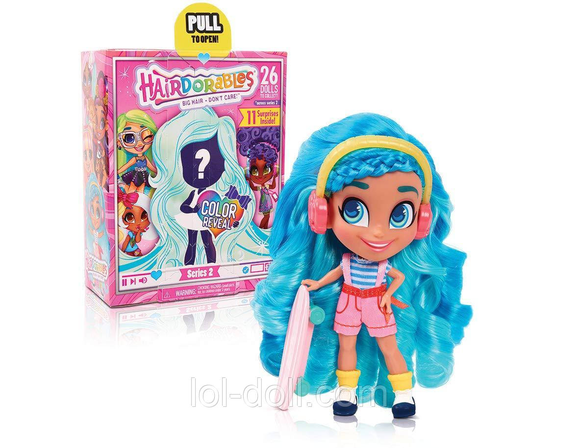 Кукла Hairdorables Collectible Surprise Хэрдораблс Dolls and Accessories Серия 2