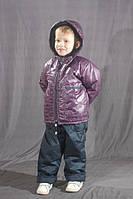 """Демисезонные комбинезоны для мальчика """"Фиолетовый лабиринт"""""""