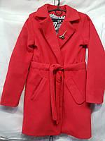 """Пальто підліткове з поясом на дівчинку 140-158 см """"Star Kids"""" купити недорого від прямого постачальника"""