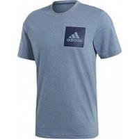 Оригинальная мужская футболка Adidas Essentials Chest Logo, S