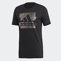 Оригинальная мужская футболка Adidas Badge Of Sport Foil Tee, L