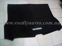 Ворсовый коврик в багажник Nissan X-TraiI T32 с 2017 г. полноразм., фото 1