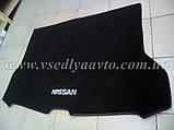 Ворсовый коврик в багажник Nissan X-TraiI T32 с 2017 г. полноразм., фото 2