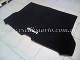 Ворсовый коврик в багажник Nissan X-TraiI T32 с 2017 г. полноразм., фото 3