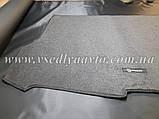 Ворсовый коврик в багажник Nissan X-TraiI T32 с 2017 г. полноразм., фото 5