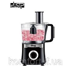 Кухонный комбайн DSP KJ3041A 4 в 1 800 Вт блендер измельчитель 5 насадок 1.5 л