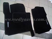 Ворсовые коврики передние Nissan NV 200 с 2009-