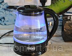 Стеклянный электрический чайник DSP KK1100 с подсветкой 1,5 л