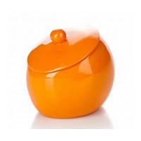 Баночка для ваты Нора оранжевый