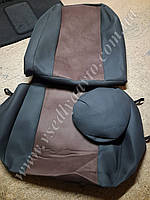 Универсальные чехлы на сидения (ткань и антара) Копмлект.