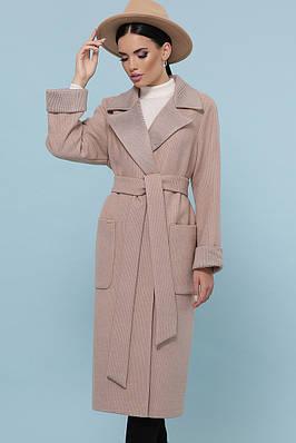 Подовжене класичне пальто