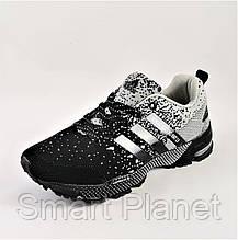 Кроссовки Adidas Fast Marathon Чёрные Мужские Адидас (размеры: 41) Видео Обзор, фото 3