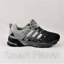 Кроссовки Adidas Fast Marathon Чёрные Мужские Адидас (размеры: 41) Видео Обзор, фото 2