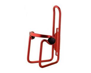 Флягодержатель BC-BH9253 AL з пласт. кліпсами червоний