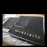 Водительский коврик ворсовый Infiniti G25 (2006-2013)