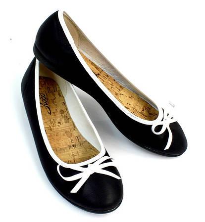 Женские  балетки MARGARETTA Black!