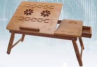 Бамбуковый столик для ноутбука Т26