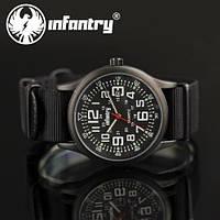 Мужские часы INFANTRY Army Black