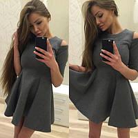 Женское стильное платье из неопрена, фото 1