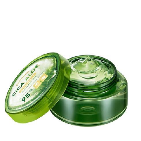 Успокаивающий гель с центеллой азиатской и алоэ вера MISSHA Premium Cica Aloe soothing gel