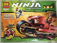 """Конструктор BELA / Бела  серии """"NINJA / Ниндзя"""" мод.9754 """"Мотоцикл"""", фото 1"""