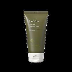Увлажняющая пенка с экстрактом оливы Innisfree Olive Real Cleansing foam