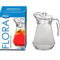 Графин стекло 1,5л. Flora TG/ TJG049