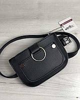 Женская сумка на пояс Welassie Кэти Черная (65-99204)