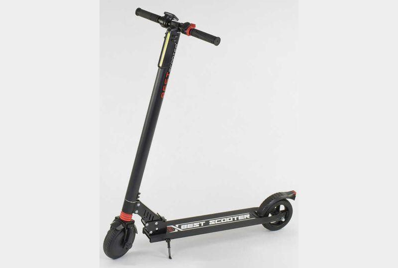 Електросамокат Best scooter 27534 чорний