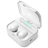 Беспроводные Наушники Air Music + Power Bank 5 White