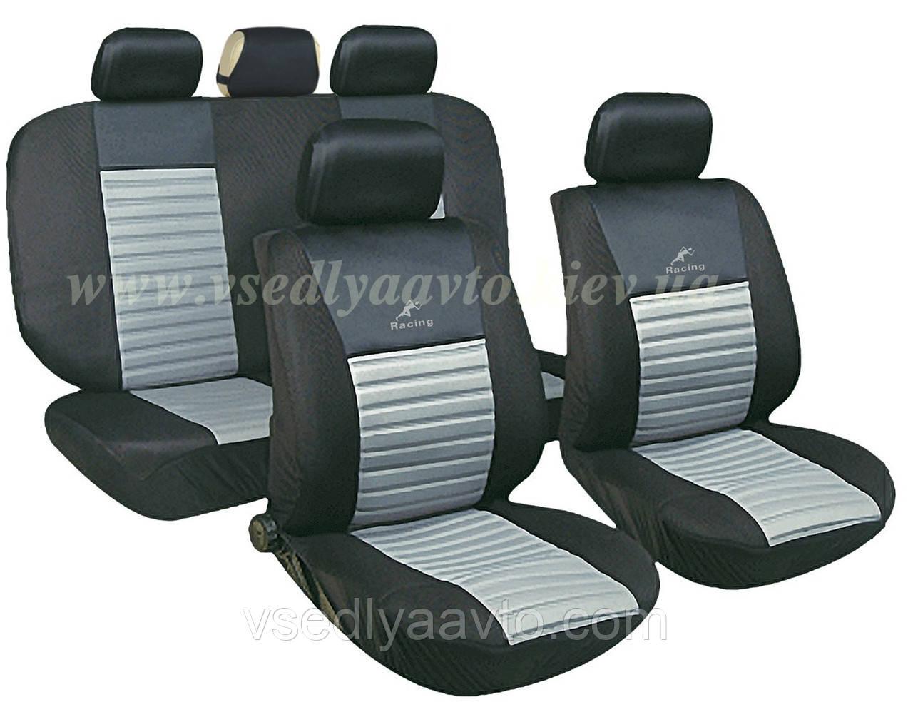 Чехлы на сиденья универсальные MILEX/Tango AG-24016/4 полн к-т/2пер+2задн+5подг+опл/сер