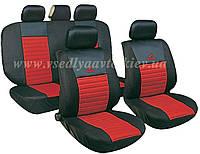 Чехлы на сиденья универсальные MILEX/Tango AG-24016/7 полн к-т/2пер+2задн+5подг+опл/красный