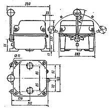 ККТ-61А - крановый кулачковый контроллер, фото 3