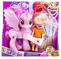 Детский игрушечный набор лошадка и кукла-пони.Детская кукла пони.