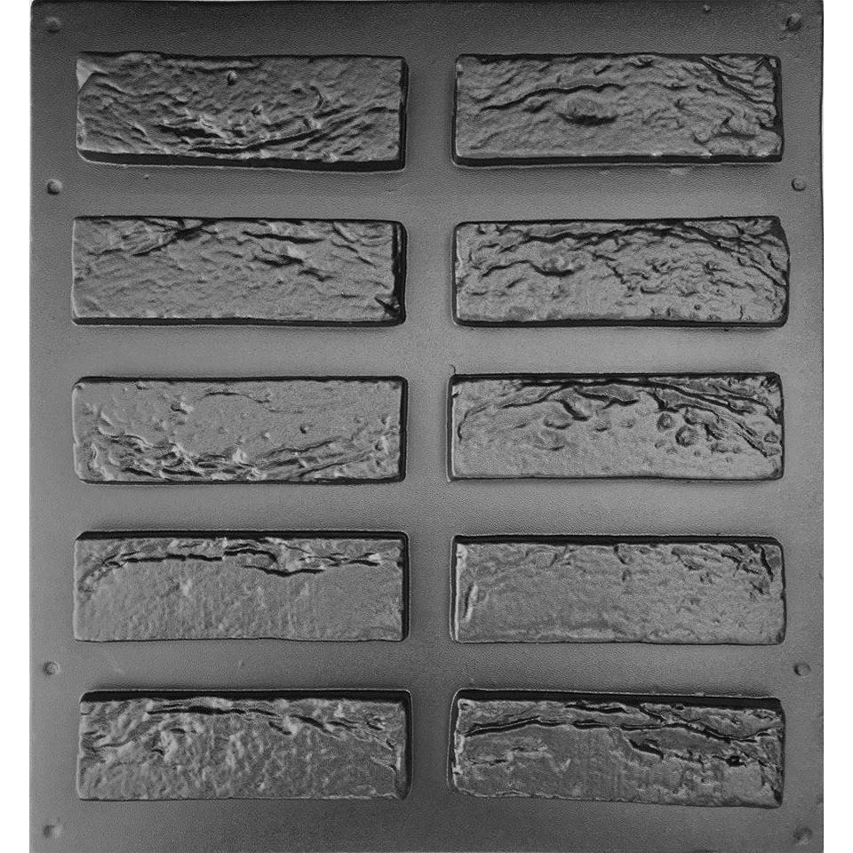 КИРПИЧ ВЕНЕЦИАНСКИЙ- набор форм 0,36 м²; формы для декоративной плитки под классический кирпич