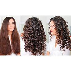 Плойка для завивки волос с керамическим напылением | Бережная укладка | Локоны Rozia HR-776 (10mm) CG24 PR3, фото 3