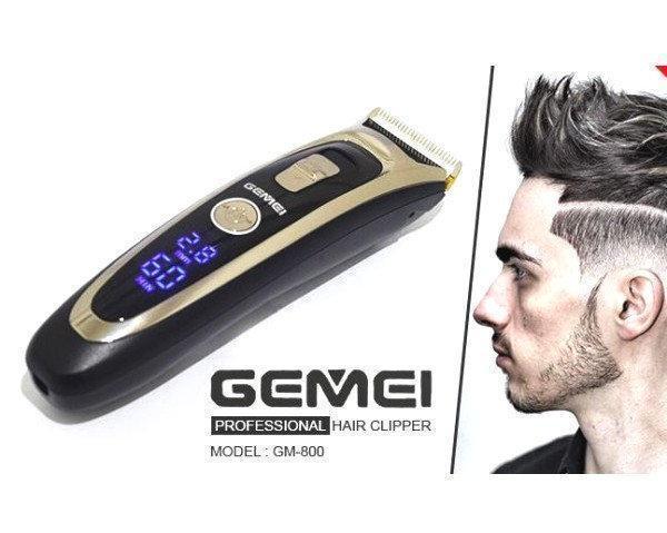 Профессиональная машинка для стрижки волос с регулировкой длины Gemei GM-800 CG21 PR4