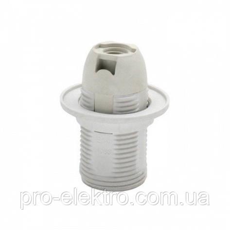 Патрон пластик белый Е14 Horoz Electric (094-002-0004-010), фото 2