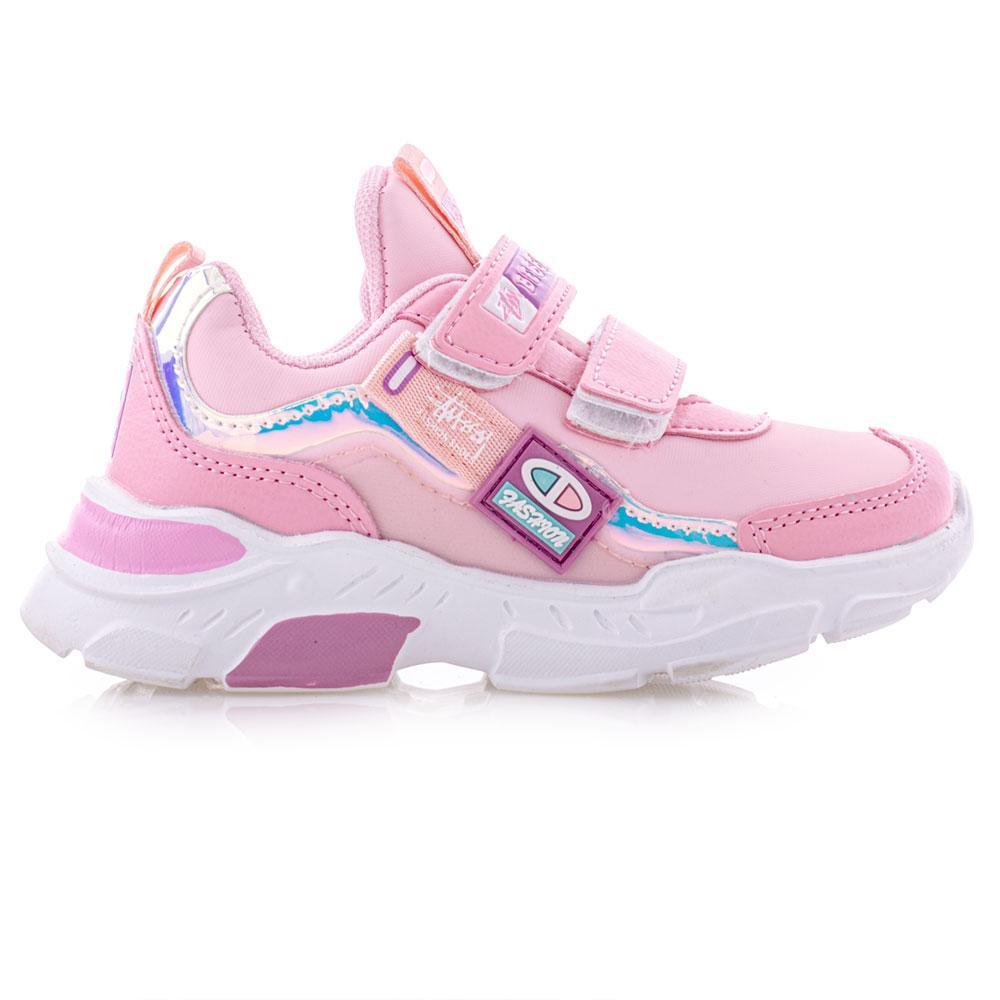 Кроссовки для девочек Bessky 26  розовый 980513