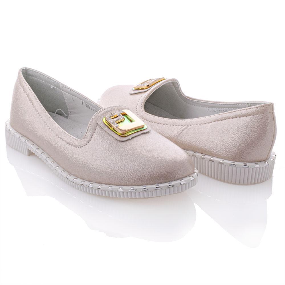 Туфли для девочек Bessky 35  бежевый 980914