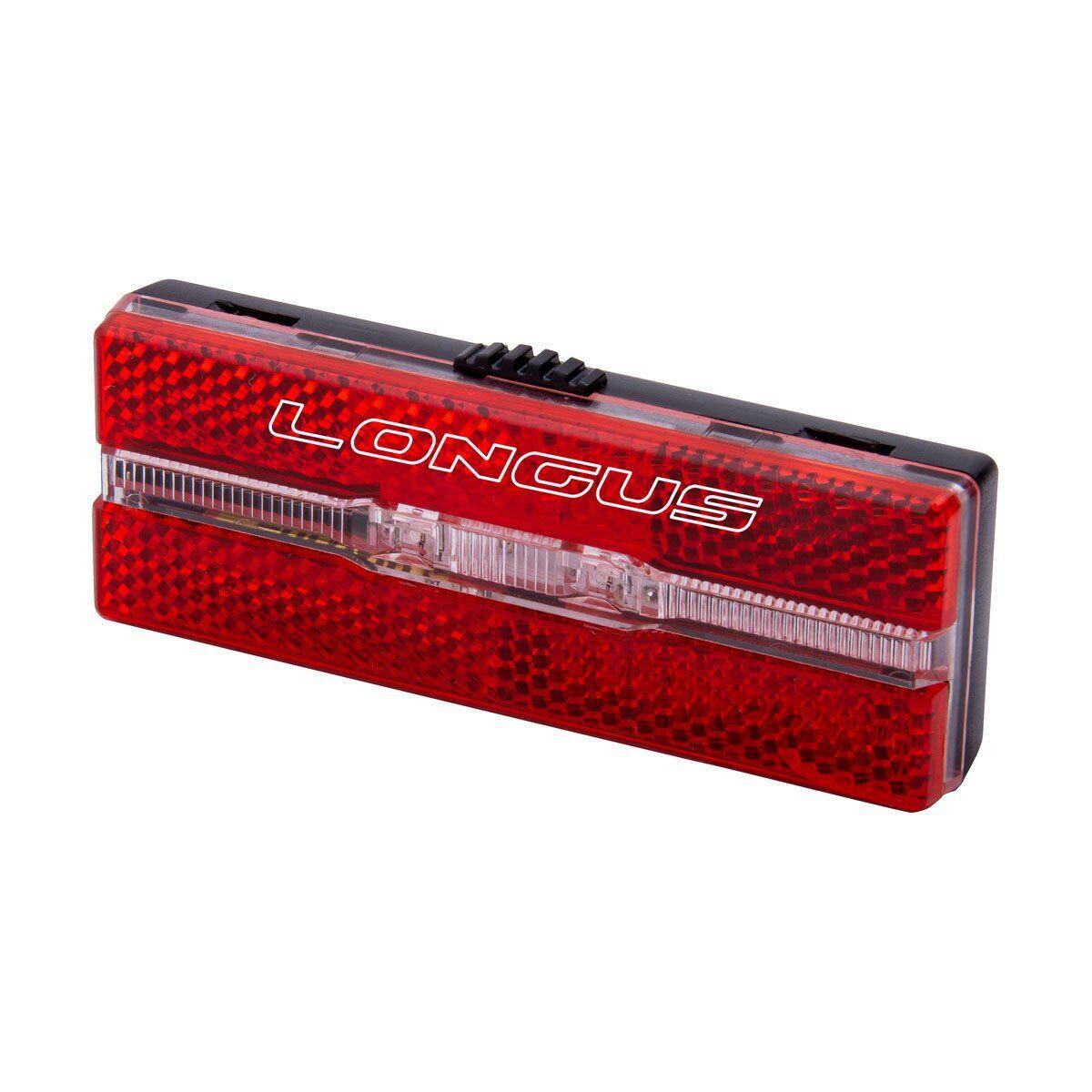 Світло заднє Longus RACK на 2 LED 1 ф-ція на багажник
