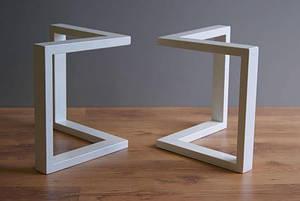 Опоры для стола N45 ножки под стол из металла с доставкой по Украине
