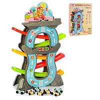 Детский развивающий трек Huabiao toys F3 серый