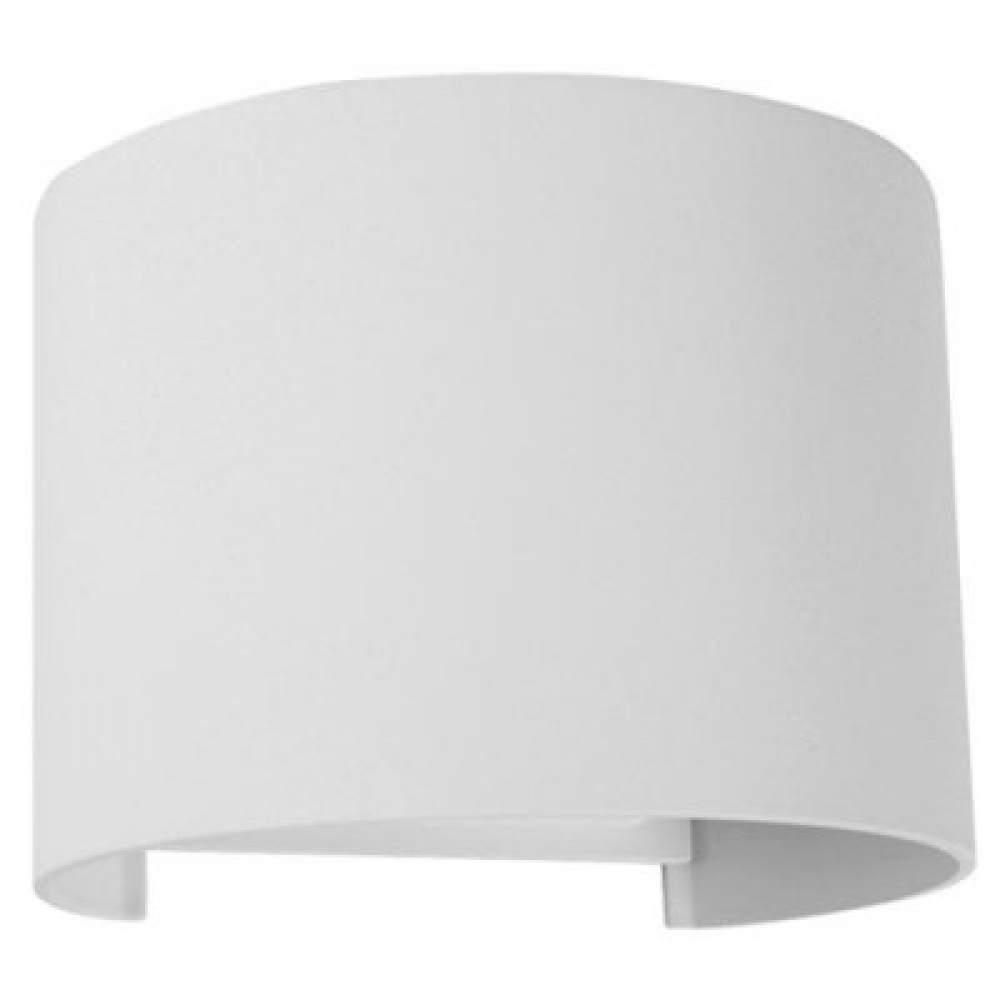 Настенный светодиодный светильник DH013 2х3W белый с регулируемым углом свечения IP54 Код.59721